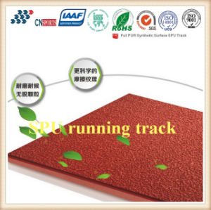 Full Pur Self-Knot Spu Rubber Running Track From Professional Manufacturer pictures & photos