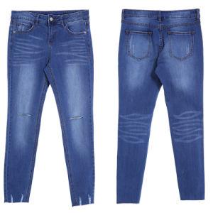 OEM Fashion Ladies High Waist Skinny Denim Jeans pictures & photos