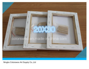 20*30cm Stretched Canvas for Painting and Drawing pictures & photos