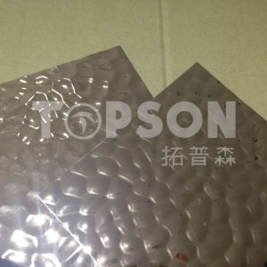 Decorative Stainless Steel Sheet Hammer Stamped pictures & photos