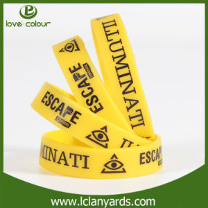 Free Sample 100% Silicone Bracelet for Custom Design Bands Mutifunctional