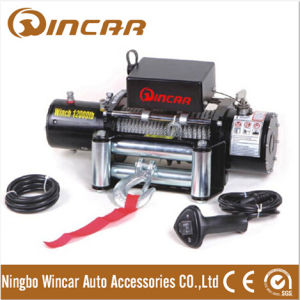Heavy Duty Electric Winch 12/24V 12000lbs for Car