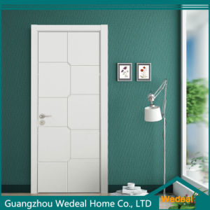 Colored Painting Flush MDF Solid Core High Quality Interior Wooden Door pictures & photos