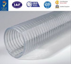Polyurethane (PU) Corrugated Pipe PU Reticulated Duct Urethane Duct PU Hose PU Tube pictures & photos