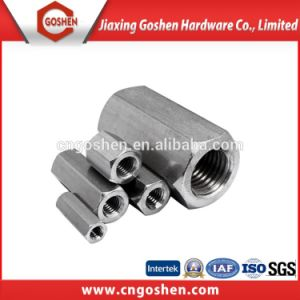 Stainless Steel 304 Hex Long Nut DIN6334/ Coppling Nut pictures & photos
