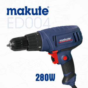 280W Electric 10mm Power Tools Drill with Keyless Chuck (ED004) pictures & photos