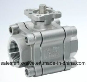3PC Type Ball Valve with Internal Thread (reduce ball) pictures & photos