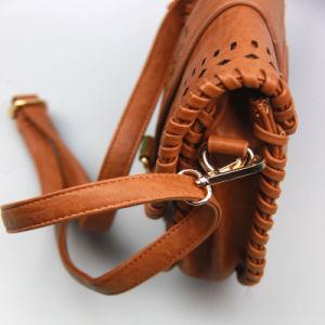 Ladies Elegent Handbag PU Laser Cut Handbag Korea Style Handbag pictures & photos