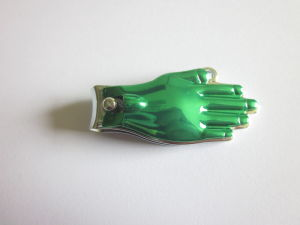 Hand Shape Nail Cutter with Laser Filer and Electrophoresis Handle pictures & photos