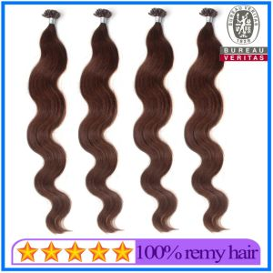 High Quality Nail Tip Pre Bonded Hair Extension pictures & photos