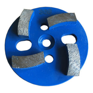 Diamonds Tool Concrete Grinding Disc Four Segments Grinding Blade pictures & photos