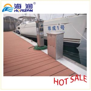 Aluminum Dock Power and Water Pedestal (LED light equipment) /Marina pictures & photos