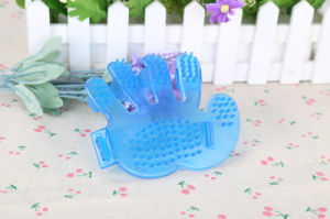 Hand Type Silicone Pet Bath Brush pictures & photos