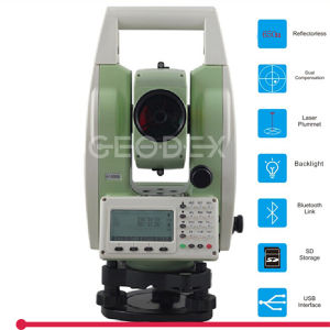 Electronic Total Station with 650m Reflectorless Measurement, with SD Card, USB, Bluetooth, RS-232 for Data Communication pictures & photos