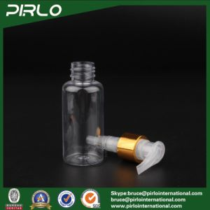 80ml Clear Pet Spray Bottle with Lotion Pump Sprayer Travel Outdoor Small Shampoo Shower Gel Spray Bottle pictures & photos