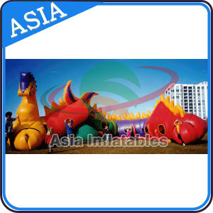 Outdoor Giant Dragon Tunnel Games for Kids pictures & photos