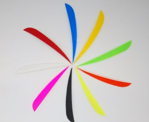 5 Inch Right Wing Parabol Fletching Feather with Different Color pictures & photos