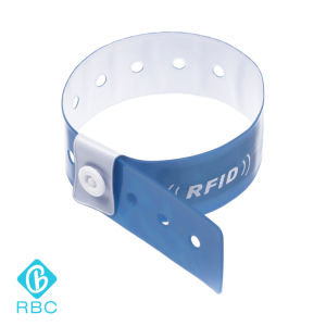 Wholesale RFID Tag 125kHz/13.56MHz Disposable Wristband Bracelet