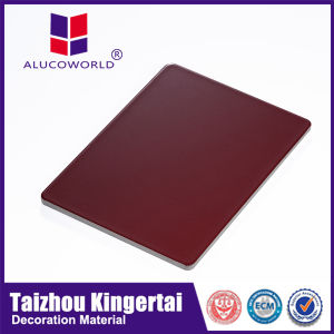 Alucoworld Aluminium Composite Sheet Sandwich Panel Wall Finishing Material pictures & photos