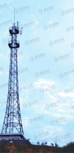 Steel Frame Telecom Lattice Iron Tower pictures & photos