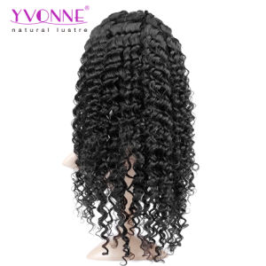 100% Big Curl Brazilian Virgin Hair Full Lace Wig pictures & photos