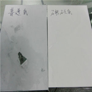 Greaseproof and Moisture Proof Printing Paper Made From Stone Powder