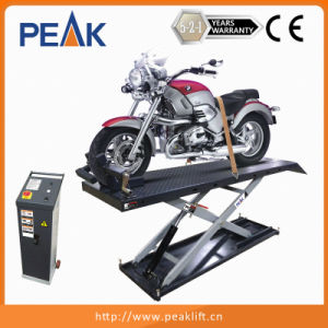 600kg Capacity Mobile Scissors Hoist for Motorcycle pictures & photos