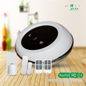 Cheapest WiFi+GSM Home Security Alarm with Low Battery Remind pictures & photos