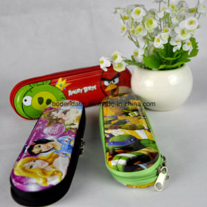 Custom Rectangular Metal Pencil Case with Zipper pictures & photos