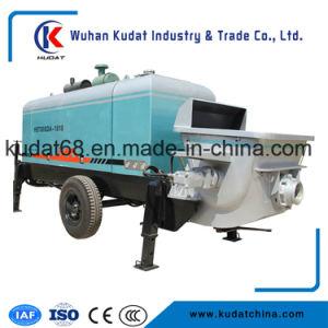 Diesel Tralier Concrete Pump Hbt60sda pictures & photos