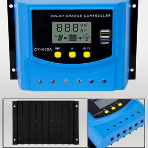 50A USB Charge Solar Regulator Controller 12V 24V LCD Display PWM pictures & photos