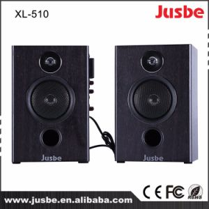 Active Home Loudspeaker 2.0 Music with Microphone Wireless Receiver pictures & photos