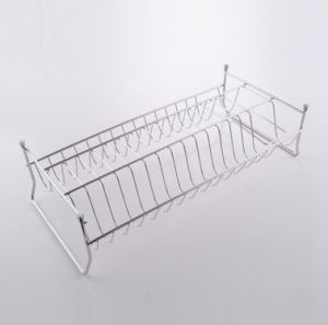 Stainless Steel Dish Drainer Drying Rack with Removable Tray pictures & photos