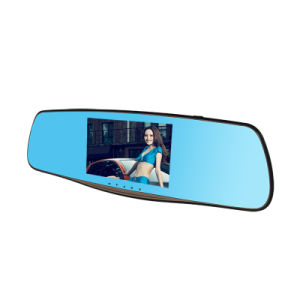 """5"""" Full HD 1080P Dual Lens Review Mirror Recorder Auto Dash Cam pictures & photos"""