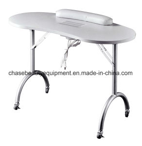 Hot Sale Manicure Nail Table with Exhaust Fan pictures & photos