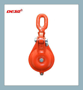 Rigging Hardware Lifting Snatch Block Pulley Witth Hook pictures & photos
