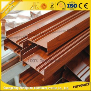 Wood Grain Aluminum Fence with ISO9001 pictures & photos
