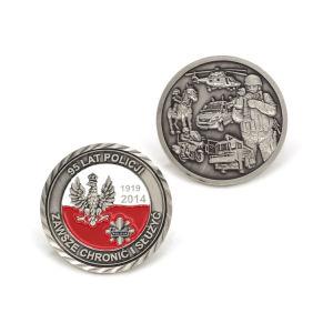 Zinc Alloy 3D Enamel Police Army Award Coin pictures & photos