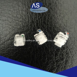 as-Orthodontic Manufacturer Sapphire Self Ligating Bracket pictures & photos