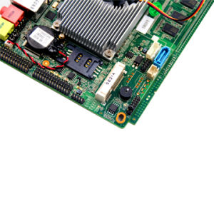 Intel Atom Fan Embedded Motherboard with 2 LAN 2*USB pictures & photos