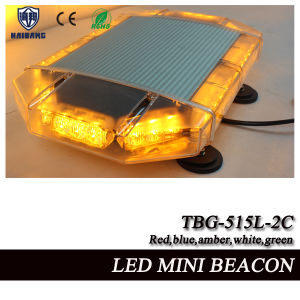 17 Inch LED Mini Flashing Beacon Light with Tir Lens and Aluminum Shell (TBG-515L-2C) pictures & photos