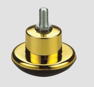 Furniture Caster Carpet Wheel Thread Imitation Gold pictures & photos