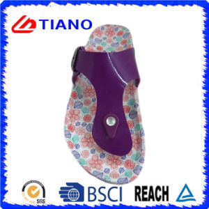 New Colorful Fashion Beautiful EVA Flip-Flop for Women (TNK24428) pictures & photos