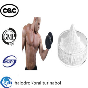 Halodrol Raw Steroid 4-Chlorodehydromethyl Testosterone Powder Oral Turinabol pictures & photos