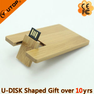 Green Environmental Gift Wooden Card USB Stick (YT-3132) pictures & photos