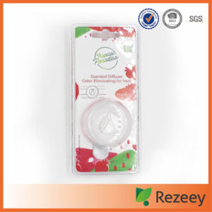 Round Shape Crystal Liquid Car Vent Membrane Air Freshener pictures & photos