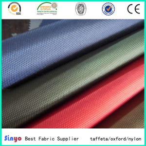 Uly Coated Oxford Wateproof 1680d Nylon Fabric with High Strength for Luggage pictures & photos