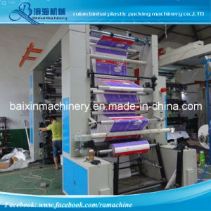High Quality Belt Flexo Printing Machine Print to FedEx Bag pictures & photos