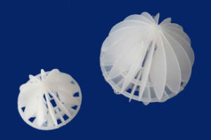 Plastic Polyhedral Hollow Ball Use for Industry pictures & photos