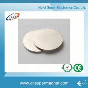 Big Disc Neodymium Ring Magnet pictures & photos